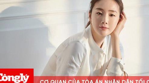 Choi Ji Woo lần đầu xuất hiện sau khi sinh con ở tuổi 45
