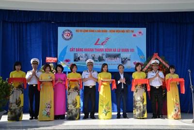 Khánh thành Phòng khám đa khoa, Bệnh xá Lữ đoàn 101, Vùng 4 Hải quân