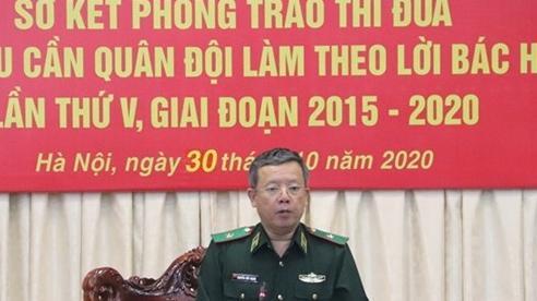 Sơ kết Phong trào thi đua 'Ngành Hậu cần Quân đội làm theo lời Bác Hồ dạy' giai đoạn 2015-2020
