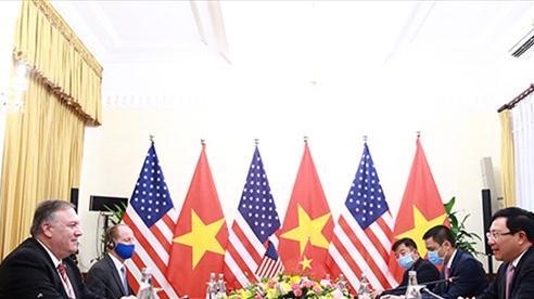 Ngoại trưởng Mỹ đánh giá cao nỗ lực của Việt Nam hướng tới thương mại hài hòa