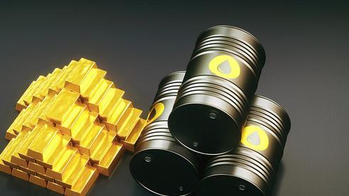 Thị trường ngày 30/10: Giá dầu tiếp tục lao dốc, vàng sụt mạnh xuống thấp nhất 1 tháng