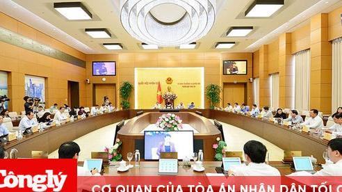 4 Nghị quyết về công tác nhân sự mới nhất của Ủy ban Thường vụ Quốc hội