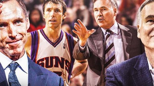 Thầy trò D'Antoni và Steve Nash tái hợp thú vị trên băng ghế huấn luyện Brooklyn Nets