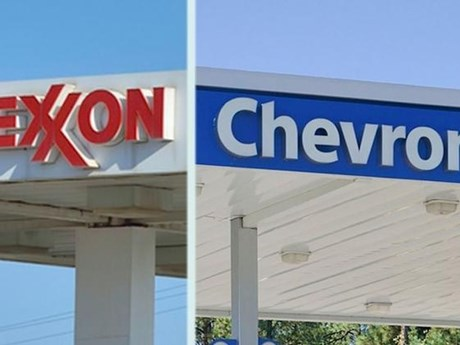 ExxonMobil và Chevron đồng loạt báo lỗ trong quý 3 vừa qua