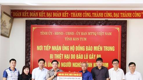 Bí thư Tỉnh ủy Đắk Lắk làm trưởng đoàn đi thăm và hỗ trợ các tỉnh miền Trung