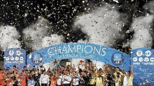 Bình Định trở lại V-League sau 12 năm chờ đợi