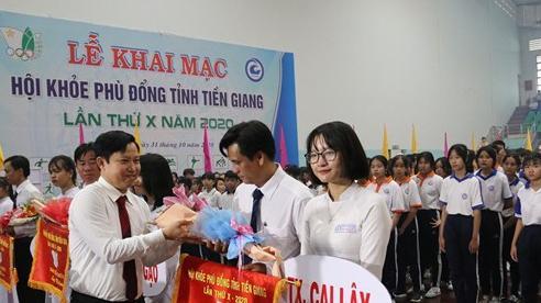 Tiền Giang: Khai mạc Hội khỏe Phù Đổng lần thứ X năm 2020