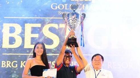 Nhất Long vô địch giải golf có nhiều hoa hậu Việt Nam tranh tài