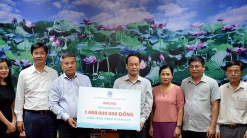 PVN: 328 tỷ đồng hỗ trợ đồng bào miền Trung bị bão lũ và người nghèo trong cả nước