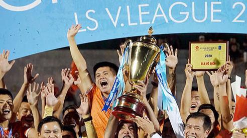 'Chảo lửa' Quy Nhơn bùng nổ khi Bình Định trở lại V-League