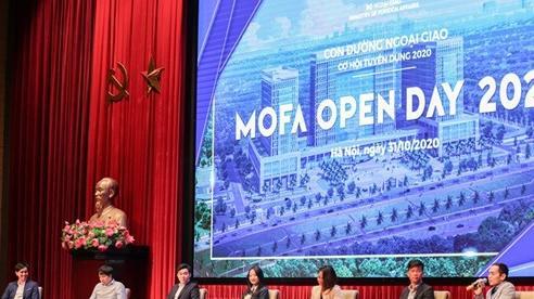 Sự kiện 'Con đường Ngoại giao - MOFA Open Day 2020'