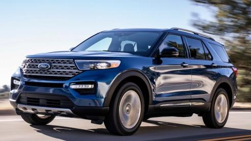 Mua xe Ford Explorer khách hàng được ưu đãi 45 triệu đồng