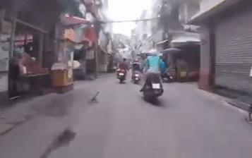 Clip: Trinh sát truy đuổi trên cướp giật dây chuyền gần 5km trên đường phố Sài Gòn
