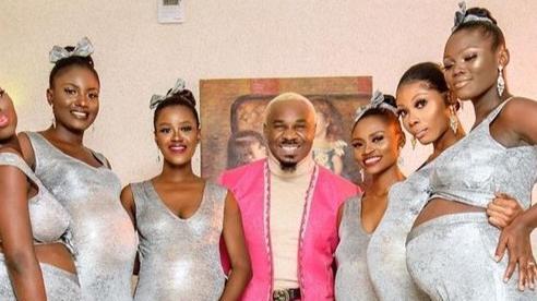 Người đàn ông dẫn 6 bạn gái mang bầu đi ăn cưới, khẳng định là cha của cả 6 đứa bé