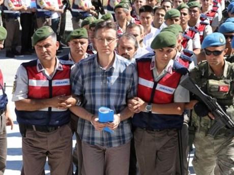 Thổ Nhĩ Kỳ phạt tù chung thân hơn 300 đối tượng liên quan vụ đảo chính