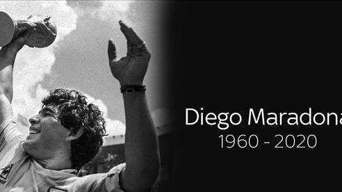Maradona, mãi mãi trong ngôi đền của những huyền thoại