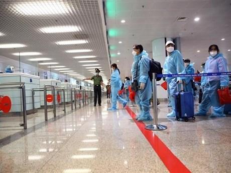 Hưng Yên tiếp nhận, cách ly tập trung 200 công dân trở về từ Nhật Bản
