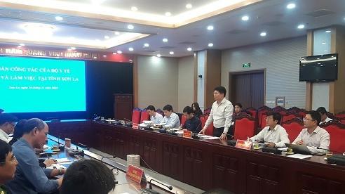 Bộ Y tế kiểm tra công tác phòng chống dịch tại Sơn La: Vẫn còn nhiều khó khăn...