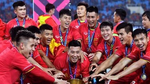 Tuyển Việt Nam đứng hạng 93 thế giới