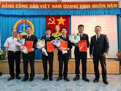 Đắk Lắk: Công bố quyết định bổ nhiệm Chánh án, Phó Chánh án tòa án nhân dân cấp huyện