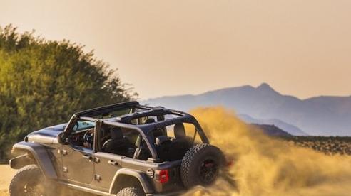 Jeep Wrangler Rubicon 392 ra mắt với động cơ V8 mạnh mẽ hơn