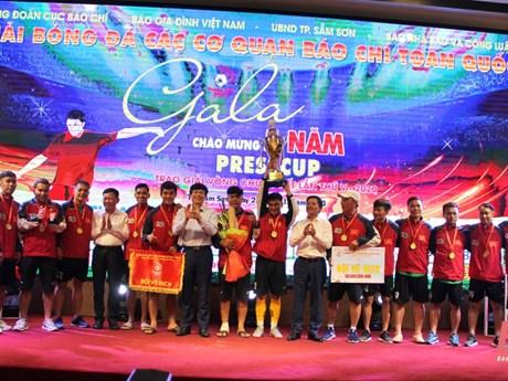 Câu lạc bộ Phóng viên thể thao TP.HCM vô địch Press Cup lần thứ 5