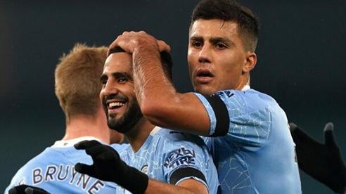 Vòng 10 Ngoại hạng Anh: Liverpool bị cầm chân, Man City thắng '5 sao'