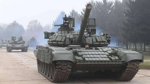 Serbia ấn tượng với xe tăng T-72MS Nga cung cấp miễn phí
