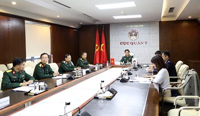 Quân y Việt Nam-Nhật Bản tăng cường hợp tác, trao đổi kinh nghiệm