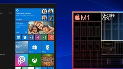Bản giả lập Windows đầu tiên 'chạy khá mượt' trên Apple Macbook dùng chip M1 mới