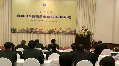 Dự án quân dân y kết hợp giai đoạn 2016-2020: Đạt nhiều kết quả quan trọng