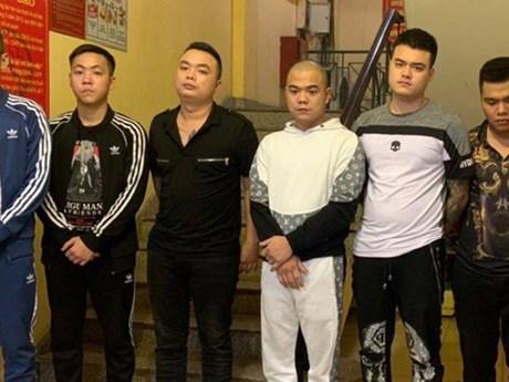 Công an Hà Nội triệt phá nhóm cho vay nặng lãi, tạm giữ 7 đối tượng