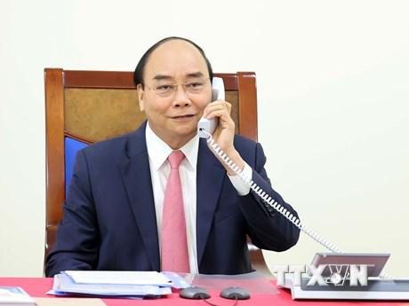 Thủ tướng Nguyễn Xuân Phúc điện đàm với Thủ tướng Hà Lan Mark Rutte