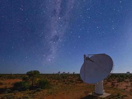 Australia lập bản đồ vũ trụ bằng kính viễn vọng vô tuyến