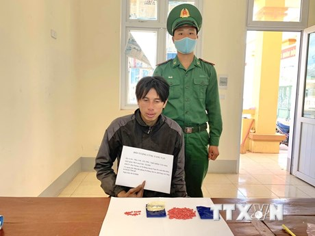 Công an Điện Biên bắt giữ đối tượng tàng trữ ma túy tổng hợp và heroin