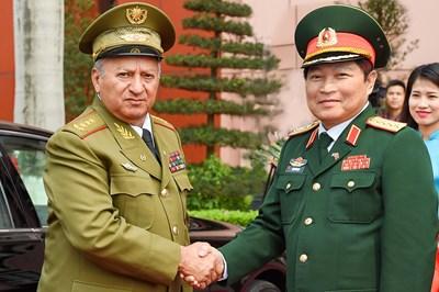 Hợp tác quốc phòng là một trong những trụ cột của quan hệ ngoại giao Việt Nam - Cuba