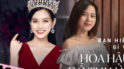 Mê mẩn Đỗ Thị Hà nhưng hiếm ai hiểu tất tần tật về tân Hoa hậu, 'khoai' nhất câu hé lộ cuộc đời buồn của cô gái này!
