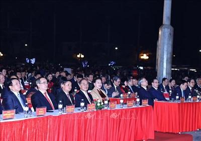 Chủ tịch Quốc hội Nguyễn Thị Kim Ngân dự Lễ kỷ niệm 990 năm Danh xưng Nghệ An