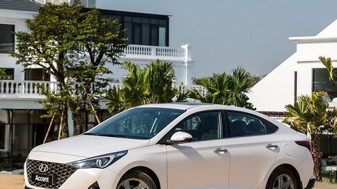 Hyundai Accent 2021 chốt giá cao nhất 542 triệu.