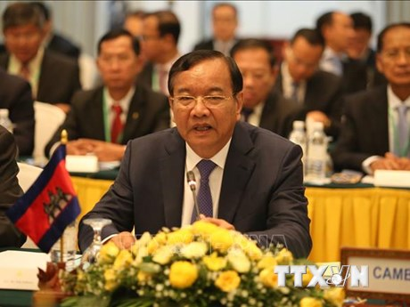 Campuchia thông cáo về kết quả Hội nghị Bộ trưởng Ngoại giao ASEAN-EU