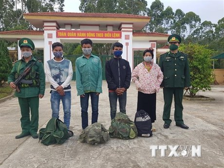 Điện Biên: Phát hiện, bắt giữ 4 đối tượng nhập cảnh trái phép từ Lào