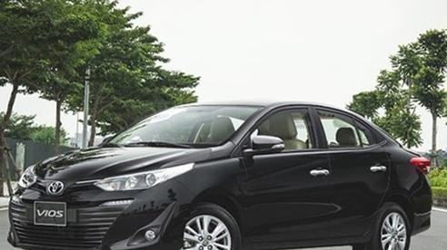 Giá xe Toyota Vios tháng 12/2020