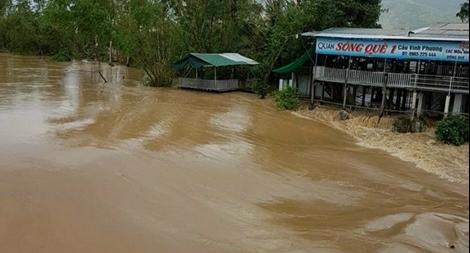 5 người chết và 1 người mất tích trong mưa lũ ở Khánh Hòa