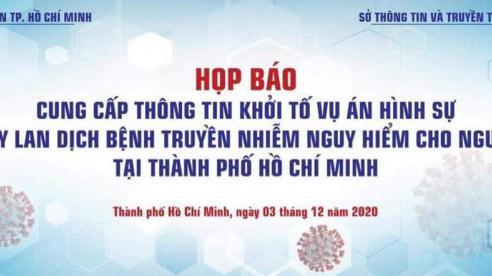 TP Hồ Chí Minh: Khởi tố vụ án tiếp viên Vietnam Airlines gây lây nhiễm bệnh Covid-19