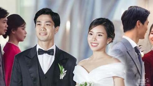 3 lần như 1, vợ Công Phương vẫn chung thủy với áo dài tha thướt trong đám cưới