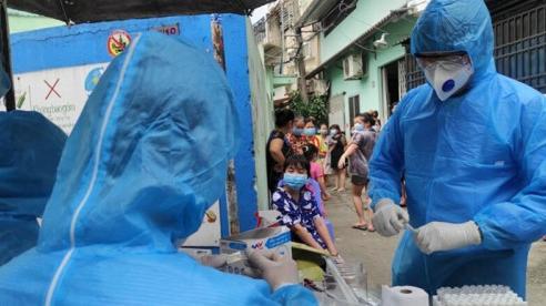 Tất cả F1 của 4 ca mắc Covid-19 ở TP Hồ Chí Minh đều âm tính