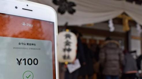Đền, chùa Nhật Bản nhận công đức bằng tiền điện tử