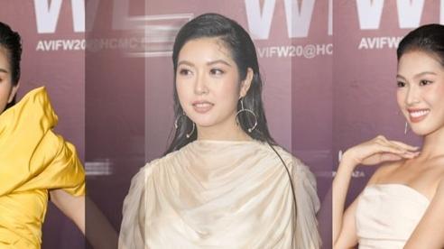 Thuý Vân mặc lùm xùm giấu bụng mỡ, 2 Á hậu Việt Nam 2020 khác lạ không nhận ra