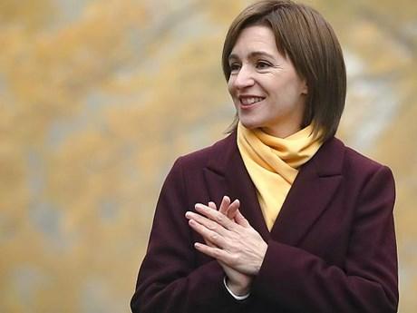 Tổng thống đắc cử Moldova Maia Sandu yêu cầu giải tán quốc hội