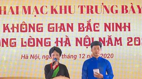 400 gian hàng trưng bày tại'Không gian Bắc Ninh trong lòng Hà Nội năm 2020'
